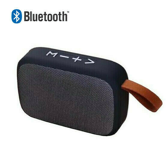 Bocina Bluetooth Micro SD Gris