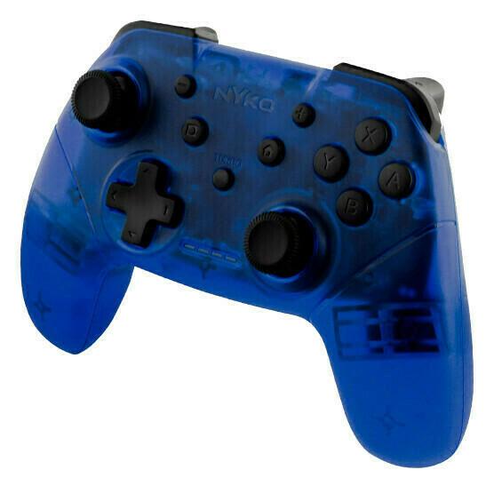 Switch Control Inalambrico Azul/Blanco  (Nyko)