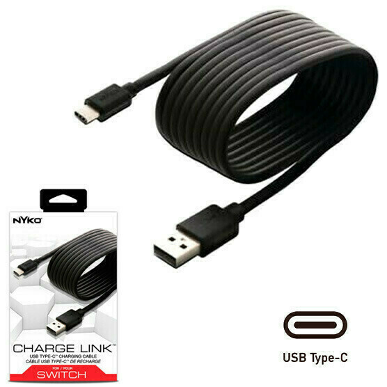 Switch Cable de Carga USB-C Para consola