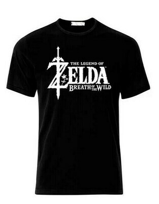 Tshirt Original Zelda Black Medium Slim Fit