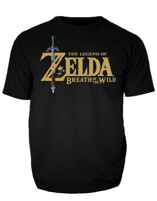 Tshirt Original Zelda Botw Black Small