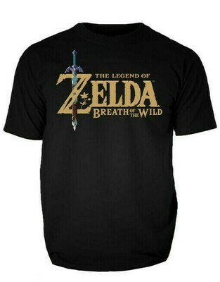 Tshirt Original Zelda Botw Black Medium