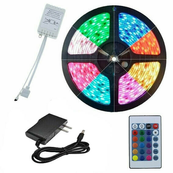 Tira Luz LED colores 5 mts