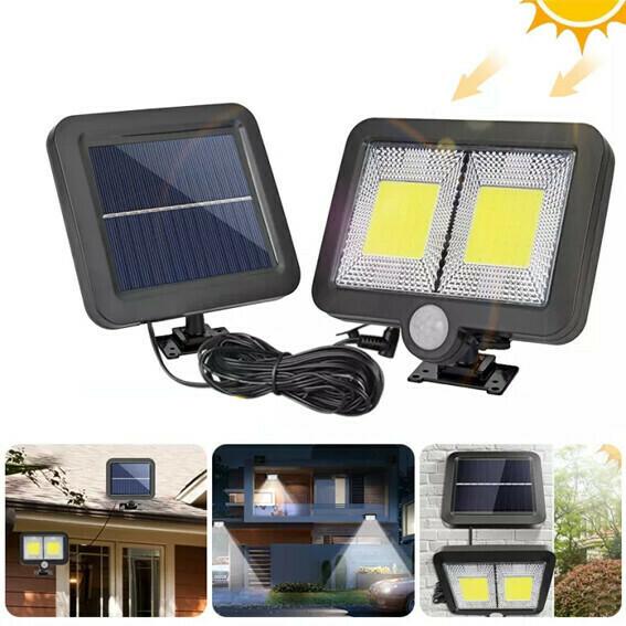 Lampara LED + Panel Solar