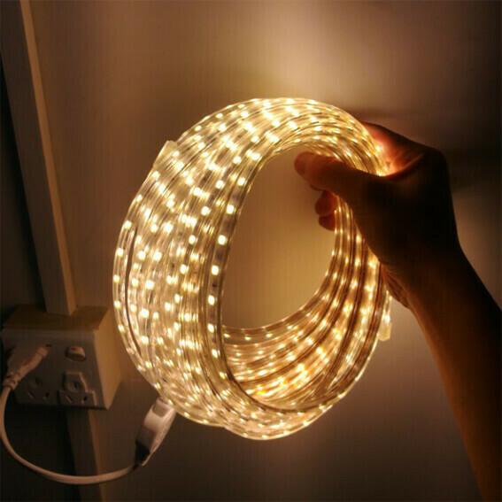 Tira Luz LED Flexible Gruesa Blanco calido