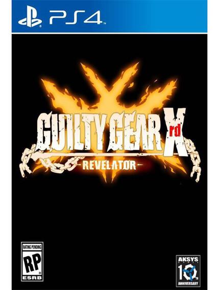 PS4 Guilty Gear Xrd Revelator