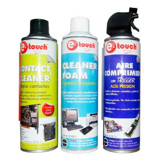 Combo Spray PC (3 unidades)