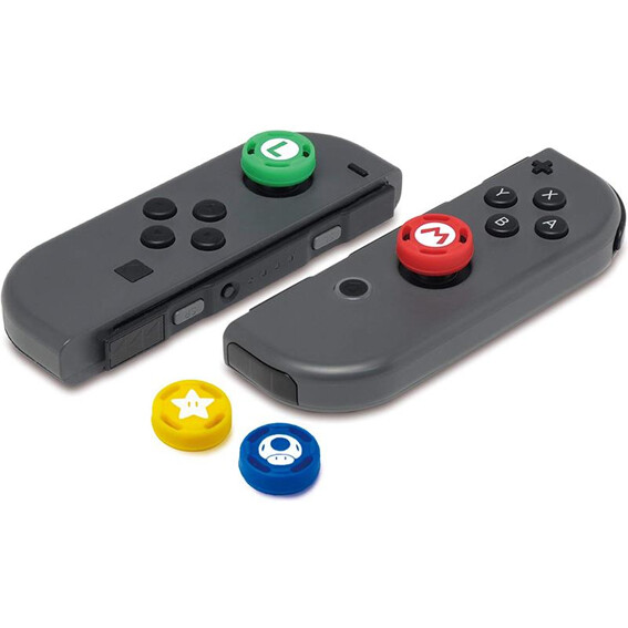 Switch Caps para control (4 unidades)