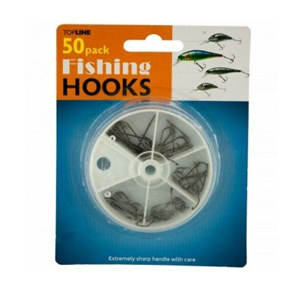 Ganchos para pesca (50 unidades)