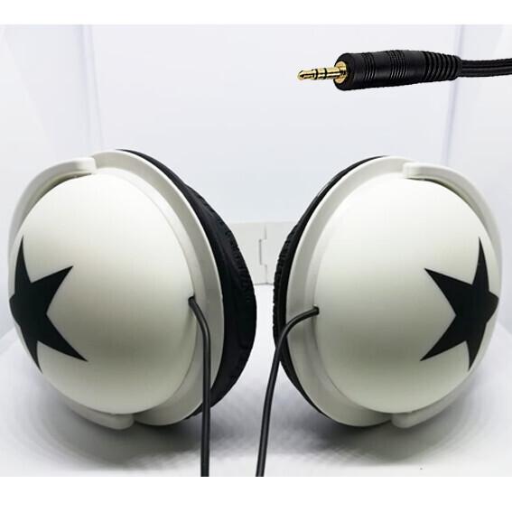 Audifonos Grandes Blancos - Estrella