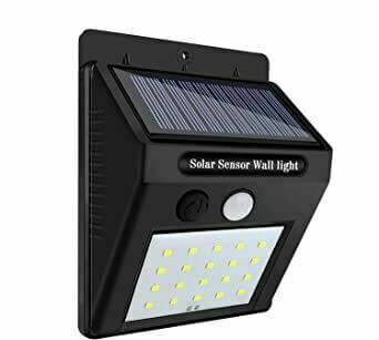 Lampara solar LED 20 Luces