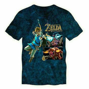 Tshirt Original Zelda Link With Small