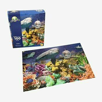 Rompecabezas 100  Piezas Oceano