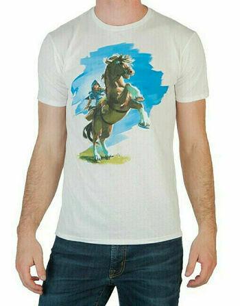 Tshirt Original Zelda Horse Large