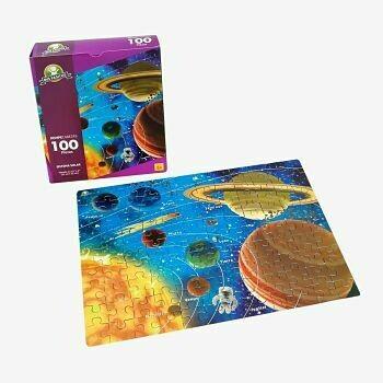 Rompecabezas 100  Piezas - Sistema Solar