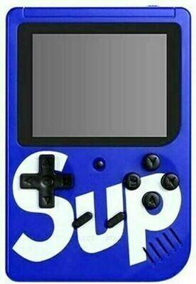 Consola Retro 400 juegos+Tv - Azul
