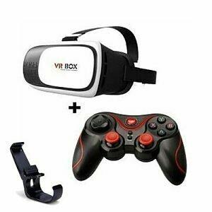 Lentes VR + Control Bluetooth