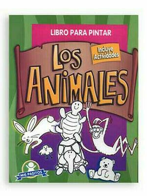 Libro pintar Los Animales