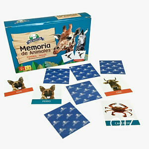 Memoria Los Animales 80 piezas