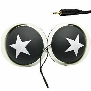 Audifonos Grandes Negros - Estrella