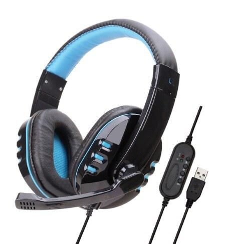 Audifonos Gaming y Chat USB