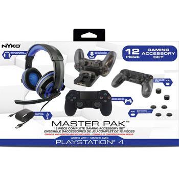Master Pack para PS4 (12 Piezas)