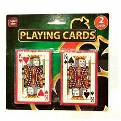 Cartas poker (2 unidades)