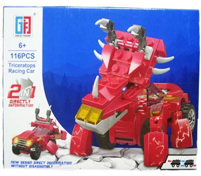 Robot 2 en 1 (116 piezas)