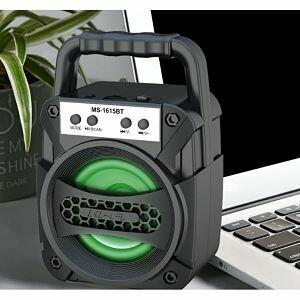Bocina Bluetooth 6W Fm+SD+USB