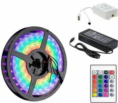 Tira LED RGB 5050 (5 metros)