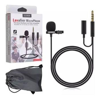 Microfono de solapa Plus