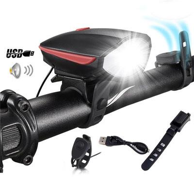 Luz LED para bicicleta