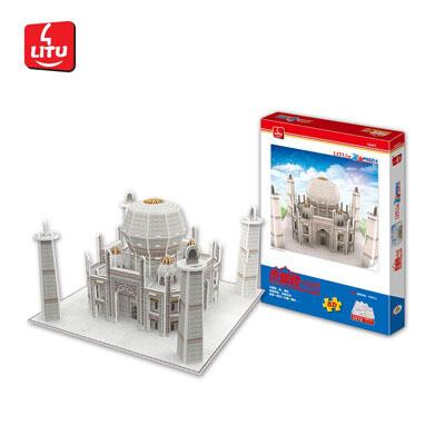 Rompecabezas 3D Taj Mahal india