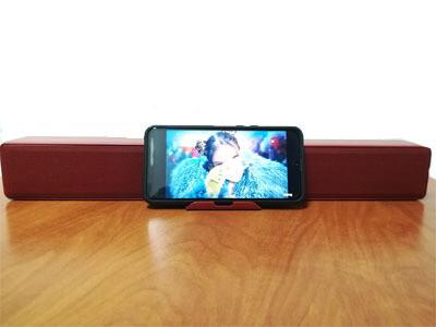 Barra de sonido (bocina bluetooth) Roja