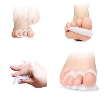 Correctores de dedos de pie