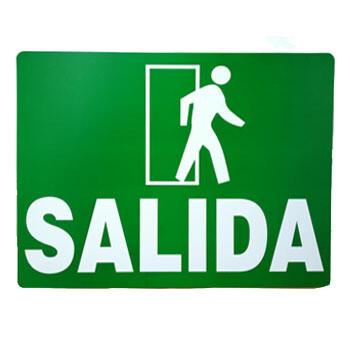 Letrero de Salida
