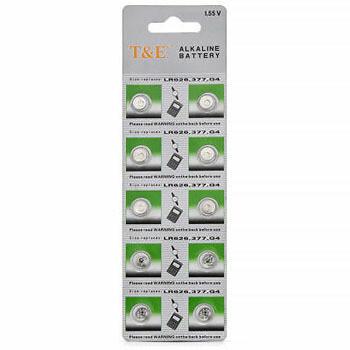 Baterias 1.55 V LR626 (10 unidades)