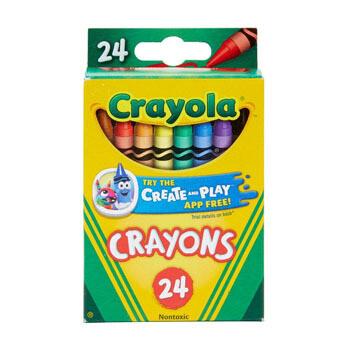 Crayola 24 crayones