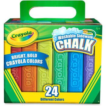 Crayola Yesos de colores (24 unidades)