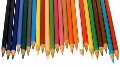 Crayones de Madera (24 colores)