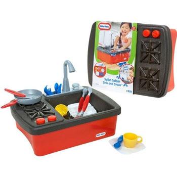 Little tikes Set de cocina y lavar platos