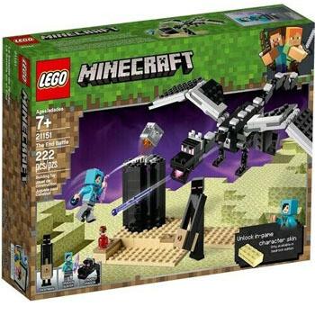 Lego Minecraft (222 piezas)