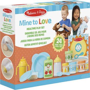 Melissa & Doug Set bebes (24 piezas)