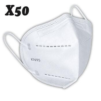 Mascarilla KN95 Importada (X50)