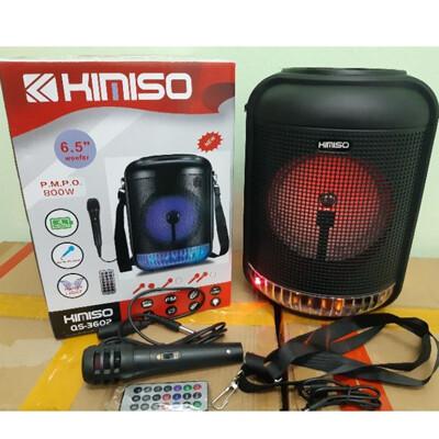 Bocina Bluetooth 800W FM+USB+SD+Aux+Micro