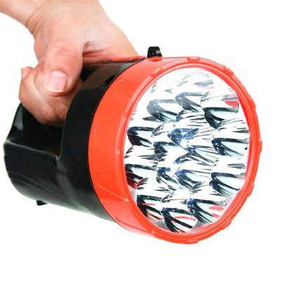 Linterna LED Recargable 15 Luces