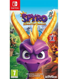 Switch Spyro Reignited Trilogy