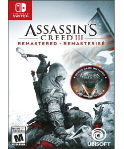 Switch Assasins Creed 3 Remastered