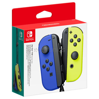 Switch Joy-con Azul Amarillo