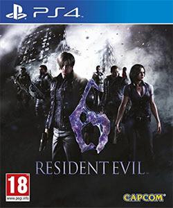 PS4 Resident evil 6 Remastered